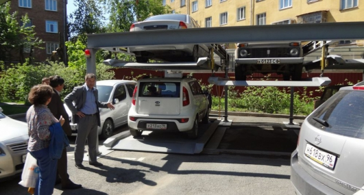 Seminar on modern solutions for parking problems